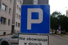 Lwówek Śląski zmiana organizacji ruchu zakaz zatrzymywania 08