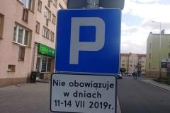 Lwówek Śląski zmiana organizacji ruchu zakaz zatrzymywania 09