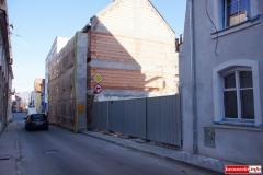 Mirsk Zburzona kamienica nadal czeka na odbudowę 1