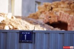 Mirsk Zburzona kamienica nadal czeka na odbudowę 3
