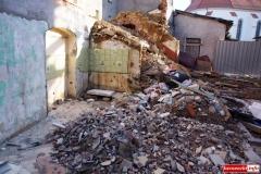 Mirsk Zburzona kamienica nadal czeka na odbudowę 4
