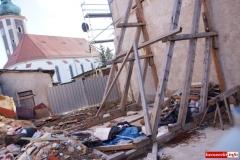 Mirsk Zburzona kamienica nadal czeka na odbudowę 5