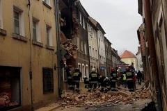 Mirsk Zburzona kamienica nadal czeka na odbudowę 7