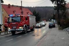 Zderzenie busa VW z Audi 6