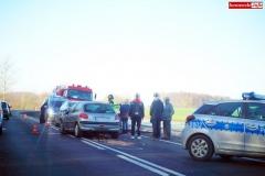 wypadek Gryfó Śląski - Biedrzychowice 2