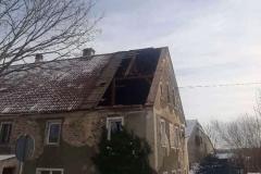 Gierczyn zerwany dach 2
