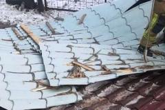 Gierczyn zerwany dach 5