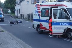 Zginął motocyklista 2