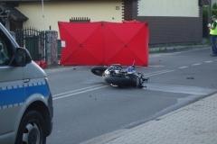 Zginął motocyklista 3