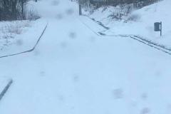Zima w kwietniu Świeradów- Zdrój 4