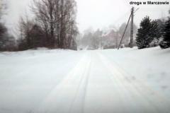 Zimowe drogi w regionie 10