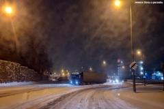 Zimowe drogi w regionie