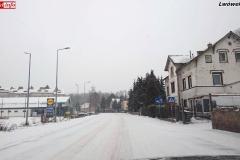 Zimowe drogi w powiecie lwóweckim 1