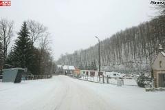 Zimowe drogi w powiecie lwóweckim 5