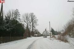 Zimowe drogi w powiecie lwóweckim 6