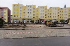 Lwówek Śląski klomb 2019 07