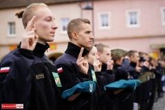 Ślubowanie uczniów klas pierwszych ZS Lubomierz 40