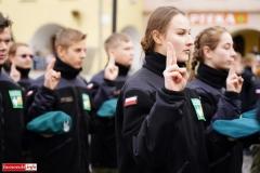 Ślubowanie uczniów klas pierwszych ZS Lubomierz 41