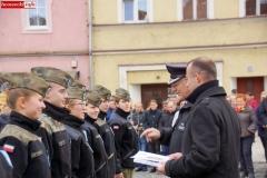 Ślubowanie uczniów klas pierwszych ZS Lubomierz 59